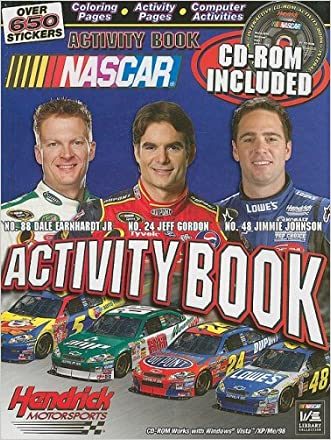 NASCAR Hendricks Motorsports Activity Book written by Larry Carney