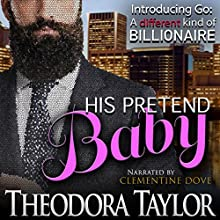 His Pretend Baby Audiobook by Theodora Taylor Narrated by Clementine Dove