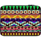 Snoogg Aztec Big Flow 12 To 12.6 Inch Laptop Netbook Notebook Slipcase Sleeve