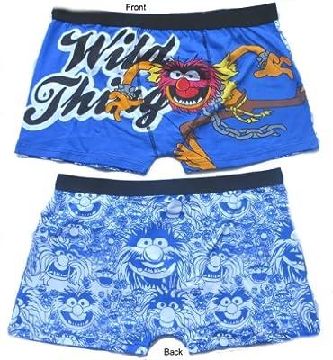 Disney Men's The Muppets Animal Boxer Shorts Trunks (1 Pair)