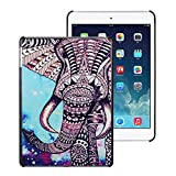 Suppion New Pattern Hard Case Cover for Ipad Air Ipad 5 (Elephant)