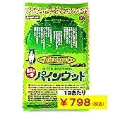 猫砂 パインウッド 6L×4個 【キラキラねこシール 写真猫付き】