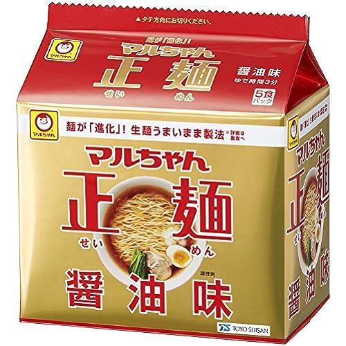 마루짱 세이멘 정면 5P×6개 (우동,카레우동,미소,시오,돈코츠,쇼유-6가지맛중선택)