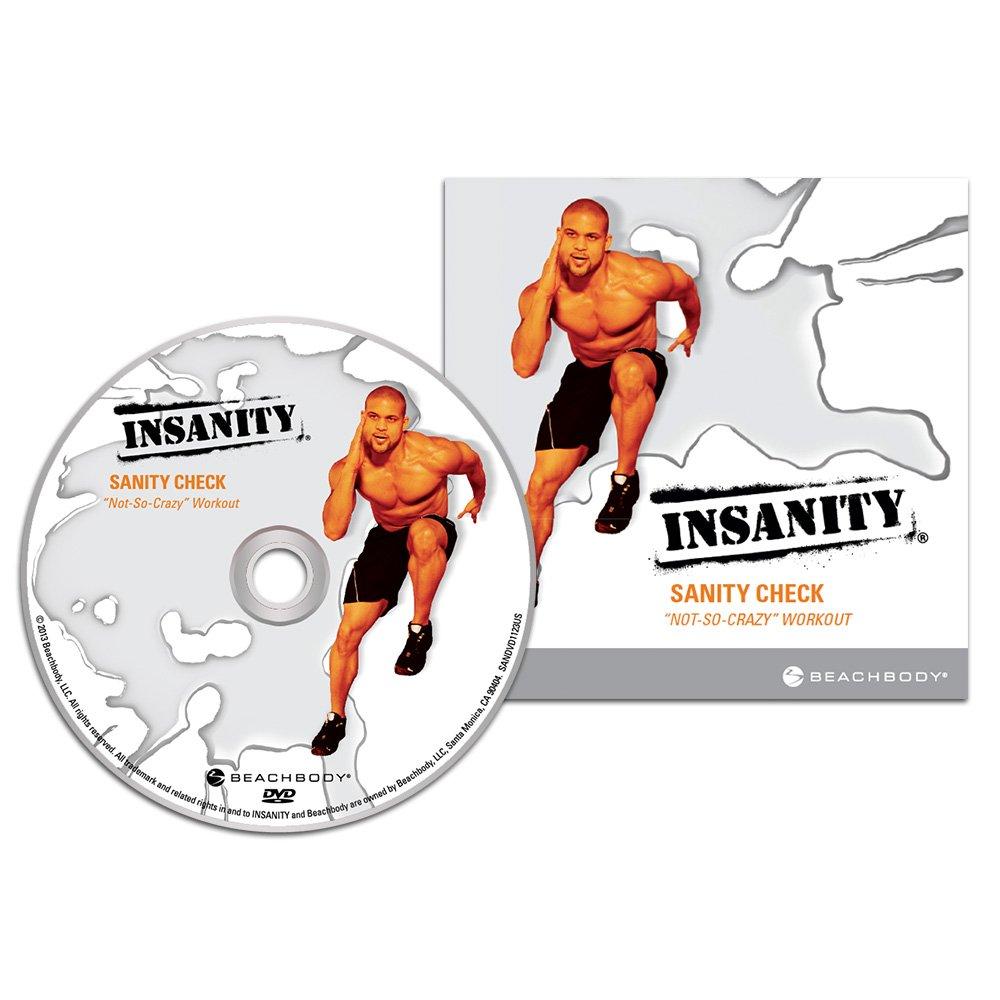 Insanity Deluxe Dvd Insanity Sanity Check Dvd