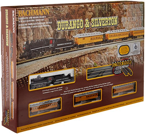 Bachmann Industries Durango and Silverton - N Scale Ready to Run Electric Train Set