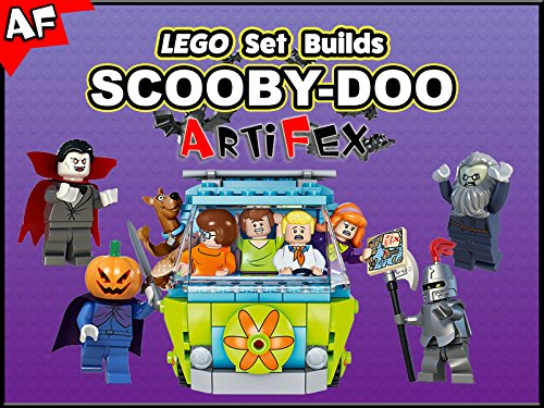 Clip: Lego Set Builds Scooby-Doo - Season 1