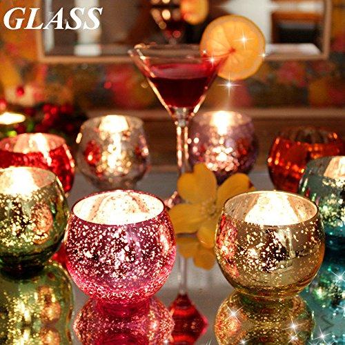 bargain world bunte glas kerzenst nder kerzenhalter