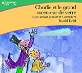 img - for Charlie et le grand ascenseur de verre [Livre Audio] CD (French Edition) book / textbook / text book
