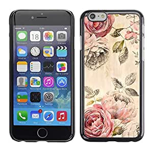 Omega Covers - Snap on Hard Back Case Cover Shell FOR Apple Iphone 6 Plus / 6S Plus ( 5.5 ) - Fabric Texture Vintage Cloth Wallpaper