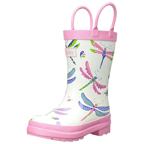 Hatley Big Girls Rain Boots Dragonflies
