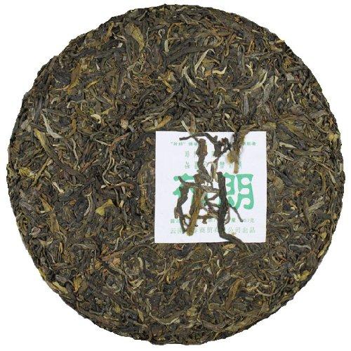 Early Spring Aged Raw Pu'Erh Pu Erh Tea Cake Bulang Material 357G