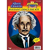 Forum Novelties Men's Heroes In History Albert Einstein Costume Wig and Mustache