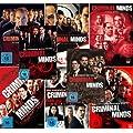 Criminal Minds - Die komplette 1. + 2. + 3. + 4. + 5. + 6. + 7. + 8. Staffel (46-Disc | 8-Boxen)