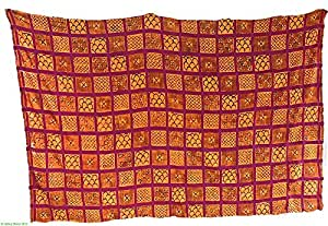 Amazon.com: Adinkra Stamped Cloth Asante Ghana African Large African
