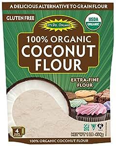 Amazon.com : Let's Do Organic Coconut Flour, 16