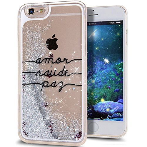 iphone-5s-coqueiphone-5-coque-landee-transparente-liquide-paillette-brillante-plastique-arriere-prot