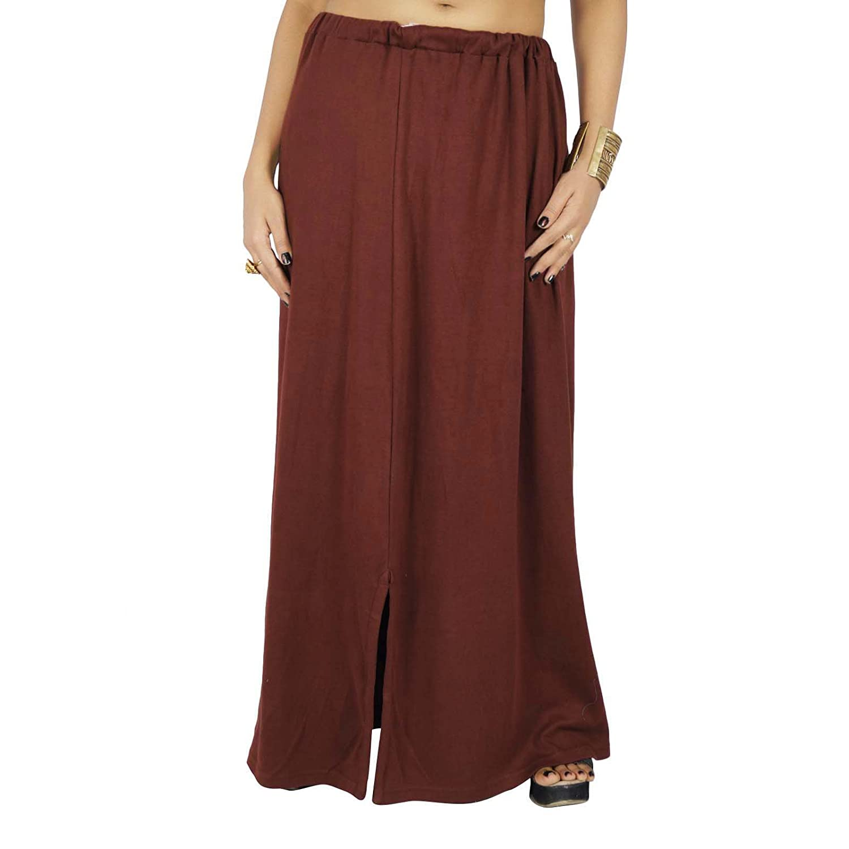 Feste Bollywood Cotton Inskirt genähtes Indian Petticoat-Futter für Sari