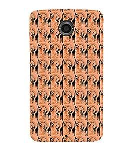 EPICCASE swag giraffe Mobile Back Case Cover For LG Nexus 6 (Designer Case)