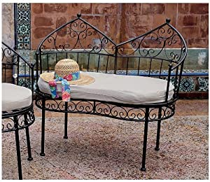 36 Royal Moroccan Outdoor Cabana Loveseat