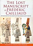 The Lost Manuscript of Fr?d?ric Cailliaud: Arts and Crafts of the Ancient Egyptians, Nubians, and Ethiopians