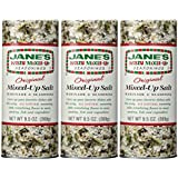 Jane's Krazy Mixed-Up Original Salt Blend 9.5 oz (Pack of 3)