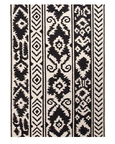 Jaipur Rugs Flat-Weave Tribal Wool Rug