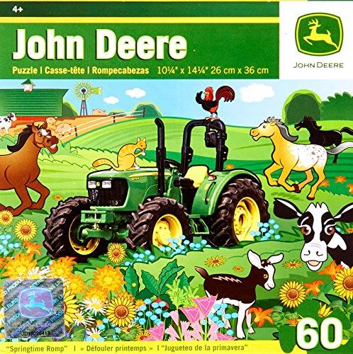 Masterpieces John Deere Springtime Romp Puzzle (60-Piece)