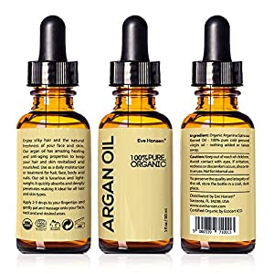 Organic ARGAN Oil 30ml - Naturally Rich in Anti-Aging VITAMIN E