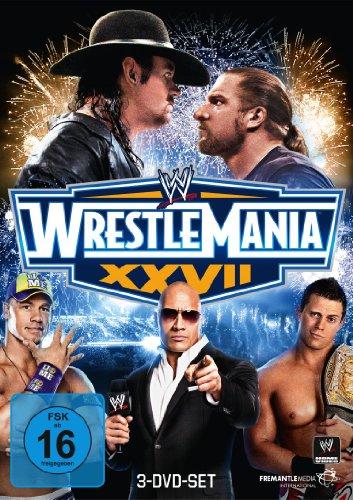 WWE - Wrestlemania XXVII [3 DVDs]