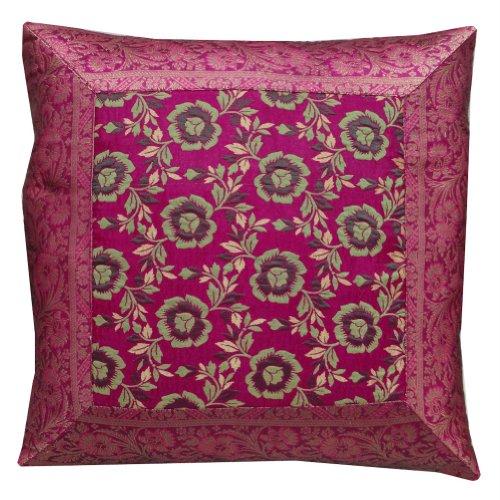 decorazioni per la casa federa magenta progettista decorativo floreale modello divano cuscini rispetto india 16'' pollici