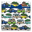Christmas Vacation Jumbo Rolled Gift Wrap- 72 sq ft.