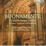 Buonamente: L'e Tanto Tempo Hormai, Sonatas, Canzonas and Sinfonias