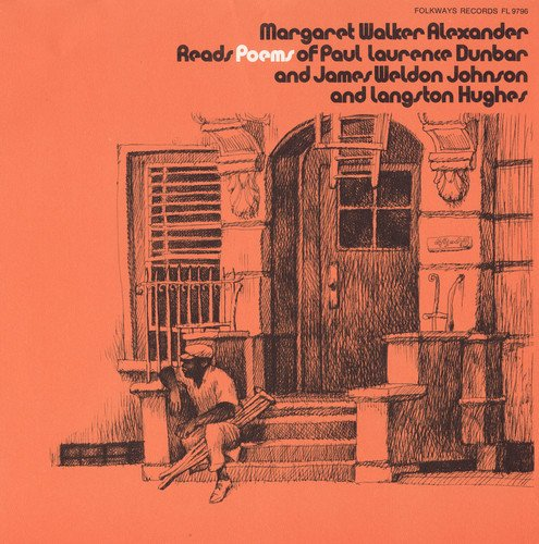 CD : MARGARET WALKER - Reads Langston Hughes
