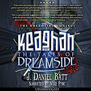Keaghan in the Tales of Dreamside Audiobook