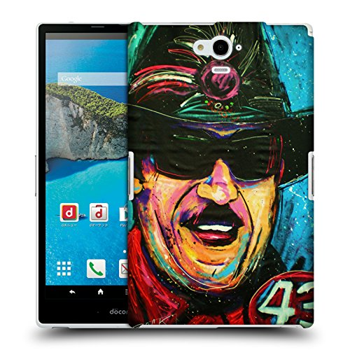Official Rock Demarco Richard Petty Iconic Hard Back Case for Sharp Aquos Pad SH-06F (Richard Sharps compare prices)