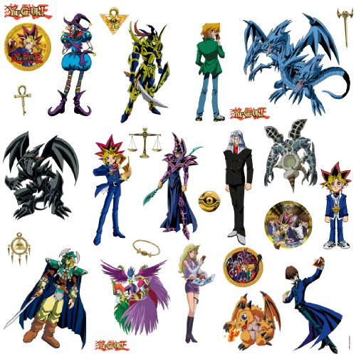 RoomMates RMK1405SCS Yu-Gi-Oh Peel & Stick Wall Decals
