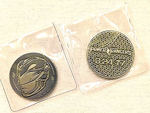 Power Rangers Movie Red Ranger Collector Coin - Power Morphicon 2016 (Power Ranger Power Coins compare prices)