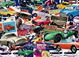 Falcon De Luxe Best of British 4 Vintage Cars Jigsaw Puzzle (1000 Pieces)