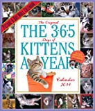 365 Days Of Kittens-A-Year 2014 Calendar (Picture-A-Day Wall Calendars)