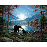 Bedtime Kisses a 1000-Piece Jigsaw Puzzle by Sunsout Inc.