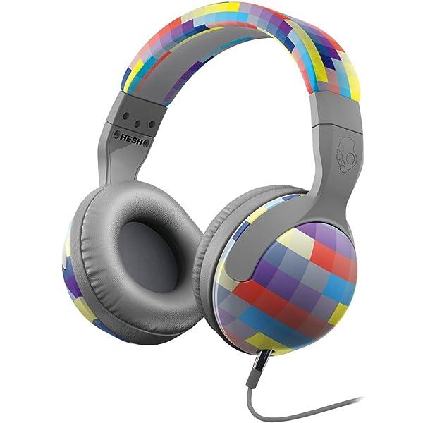 Skullcandy Hesh 2.0 with Mic Premium Wired Headphone - Grey/Gridlock / One Size