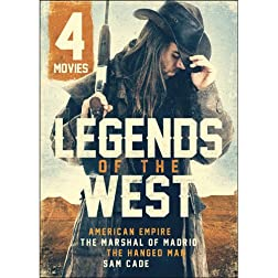 4-Movie Legends of the West V.2: American Empire / The Marshal of Madrid / The Hanged Man / Sam Cade