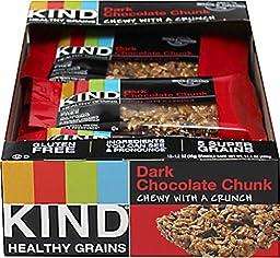 Kind Snacks Healthy Grains Bar Dark Chocolate Chunk 12 - 1.2 oz. Bars
