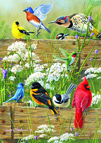 Large Piece Family: Songbird Menagerie - 300 Piece Puzzle