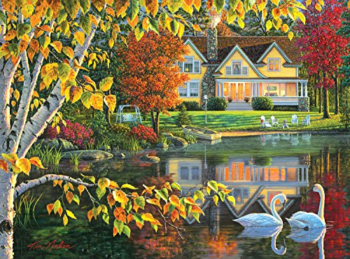 Buffalo Games Kim Norlien: Autumn Reflections - 1000 Piece Jigsaw Puzzle by Buffalo Games