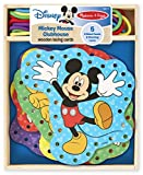 Mickey Mouse Clubhouse Wooden Lacing Cards