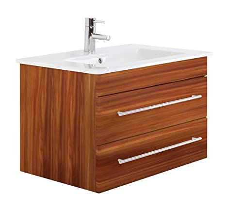 Villeroy & Boch Venticello 80 cm bathroom furniture Walnut Semi-Gloss