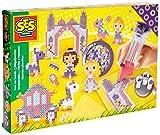 SES Creative - Cuentas para planchar de minimundo de princesas, multicolor (06072)