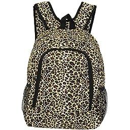 World Traveler Multipurpose Backpack 16-Inch, Leopard, One Size