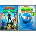Monsters vs. Aliens/B.O.B.'s Big Break in Monster 3D: Ginormous Double Pack
